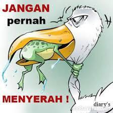 MENYERAH
